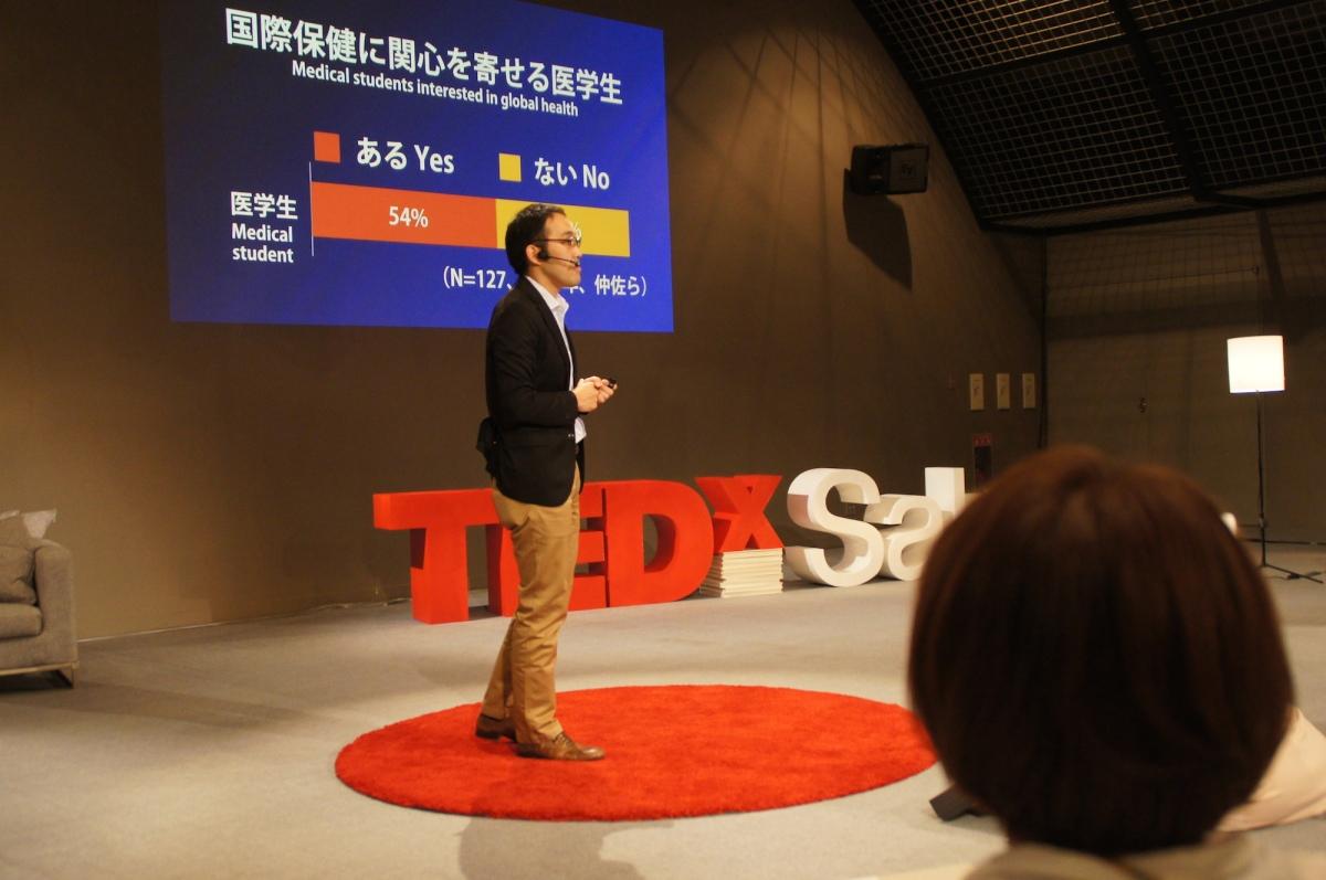 佐久から世界に健康を: 座光寺正裕 at TEDxSaku on May 11th 2014